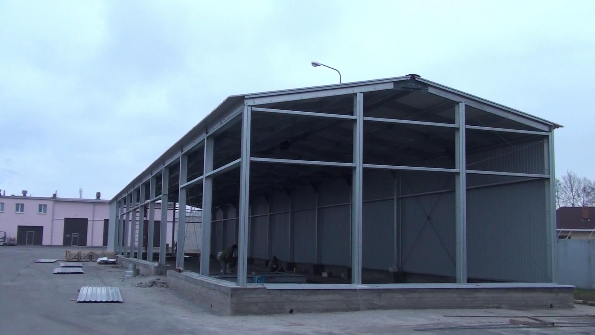 Промышленные быстровозводимые здания
