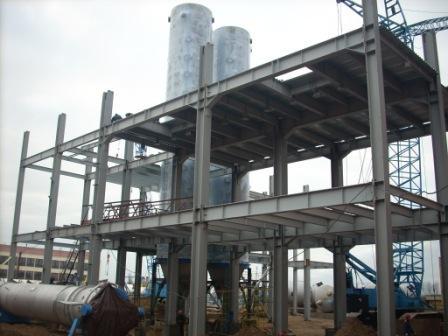 строительство химических заводов
